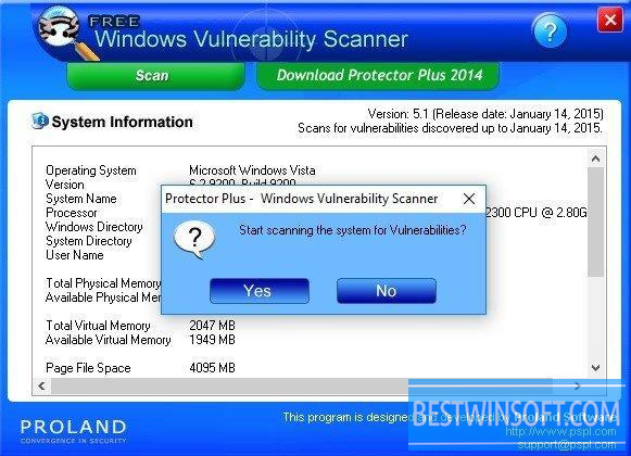 free system vulnerability scanner