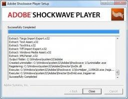 Adobe Shockwave Player Image 2