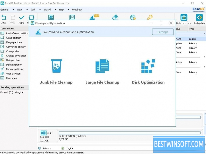EaseUS Partition Master Free for Windows PC [Free Download]