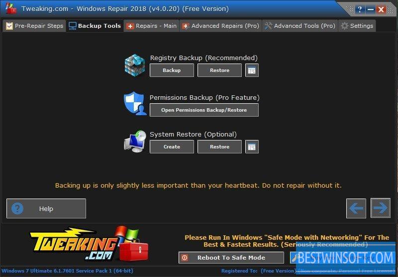 tweaking.com - windows repair free torrent