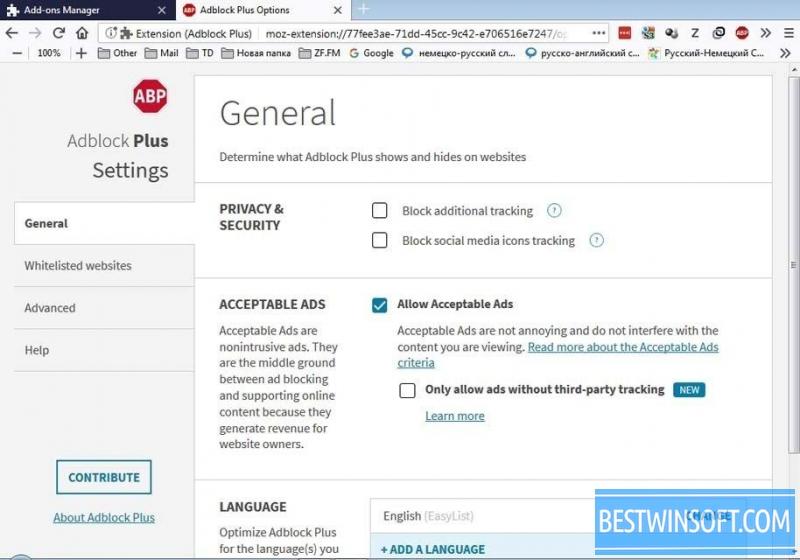 Free Adblock Firefox -