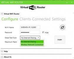 WiFi Virtual Router Image 4
