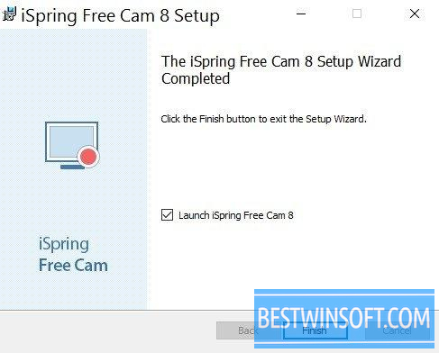 iSpring Free Cam for Windows PC [Free Download]
